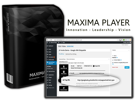 Download FREE Maxima Ads Player NULLED!!