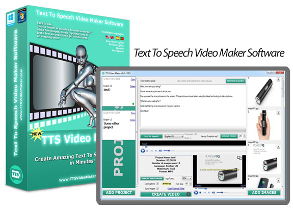 TTS Video Maker 1.1 Pro Plus