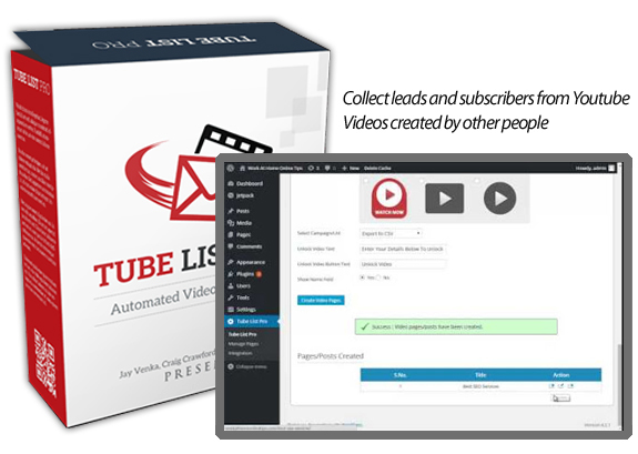 You Can Download FREE Tube List Pro NULLED!