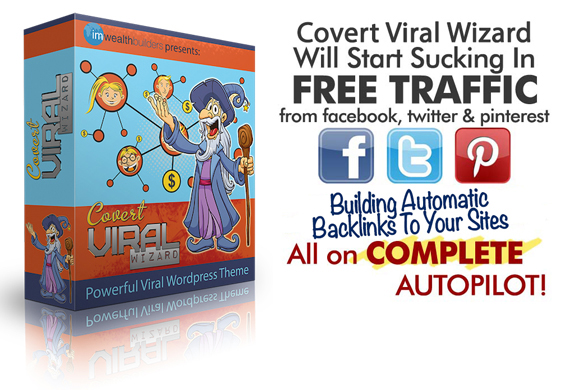 Covert Viral Wizard Theme NULLED FREE Download