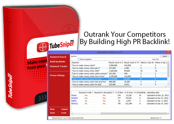 Download FREE Tube Sniper Pro 3.0 CRACKED!