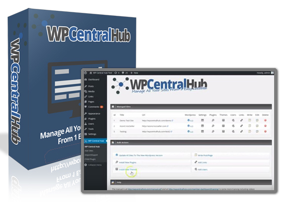 GET FREE WP Central Hub 2.0 Plugin NULLED!