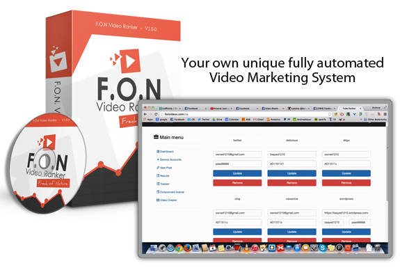 Instant ACCESS FON Video Ranker Pro Member Area