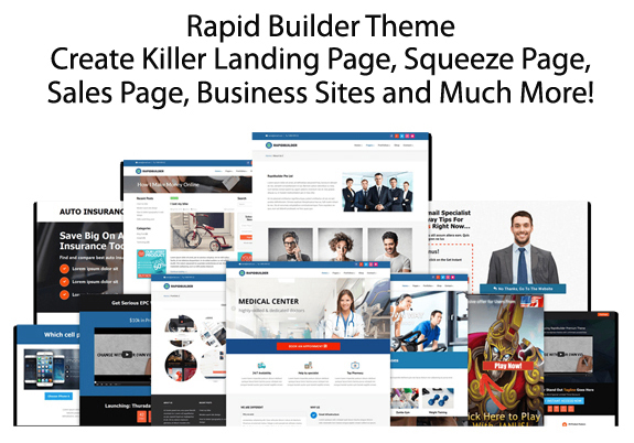 Rapid Builder Theme NULLED Free Download!