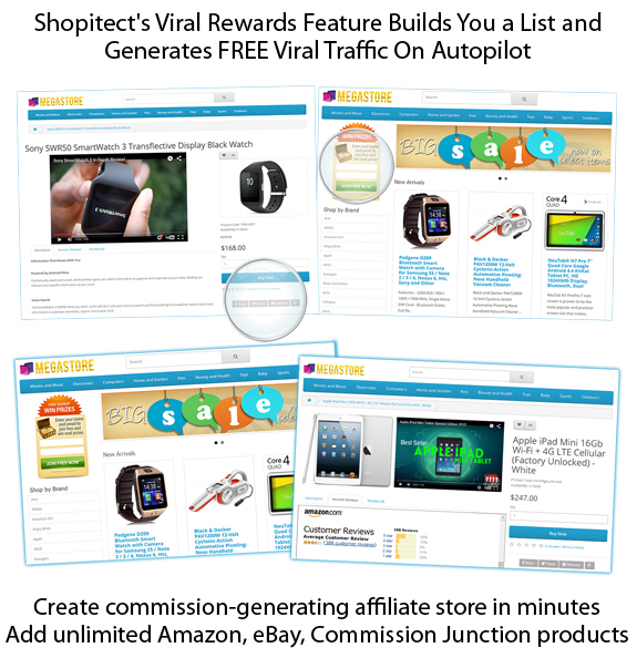 GET Shopitect Affiliate Store Builder Software!!