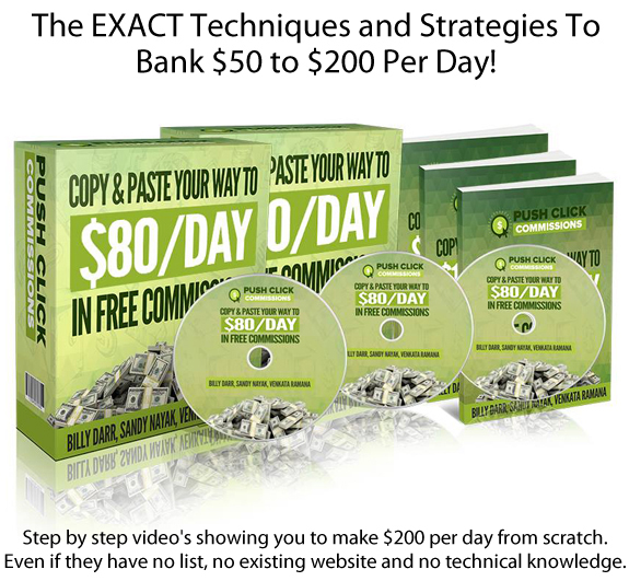 Download Push Click Commissions FULL Training!