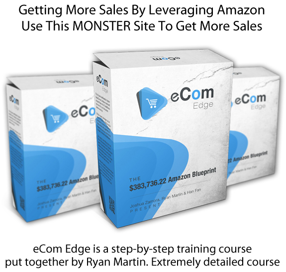 Download eCom Edge Blueprint By Ryan Martin FULL Training