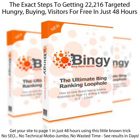 INSTANT DOWNLOAD BINGY Formula Bing Rank Hacker ALL Module