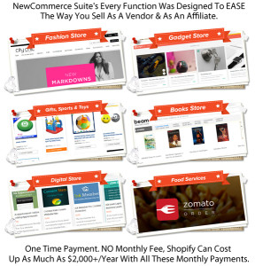 INSTANT DOWNLOAD New Commerce Suite Theme Unlimited License