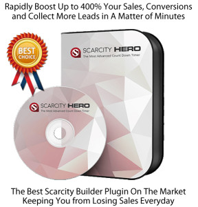 INSTANT Download Scarcity Hero Plugin NULLED 100% Working!!