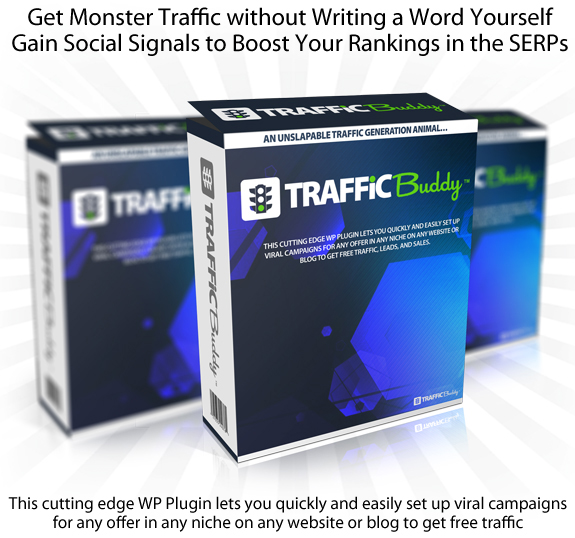 INSTANT Download Traffic Buddy Plugin 100% Working!