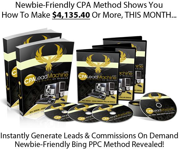CPA Lead Machine Pro DIRECT DOWNLOAD All Module PDF & Video