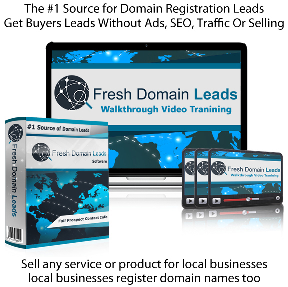 Fresh Domain Leads Software 100% LIFETIME ACCESS!