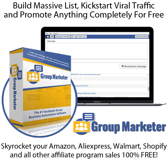 Group Marketer Software READY To DOWNLOAD LIFETIME
