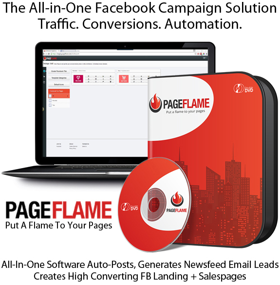 PageFlame Software UNLIMITED READY To Download LIFETIME!