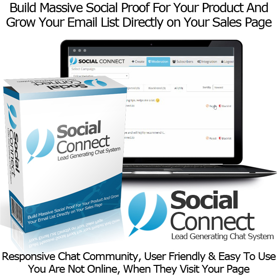 Social Connect Software READY TO ACCESS Unlimited License