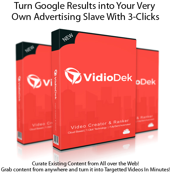Vidio Dek Software 100% Working!! Ready To Download
