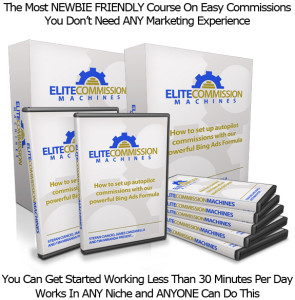 Elite Commission Machines COMPLETE VIDEO INSTANT ACCESS!