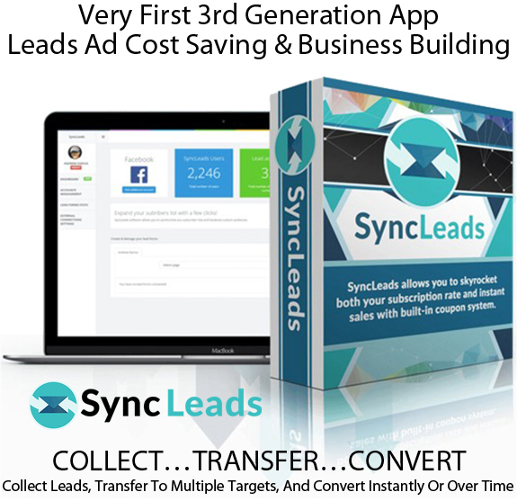 Sync Leads Software LIFETIME ACCESS! For Unlimited FB Accounts