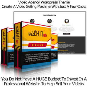 VidHit WP Theme INSTANT DOWNLOAD!! By Todd Gross 100% Working!!