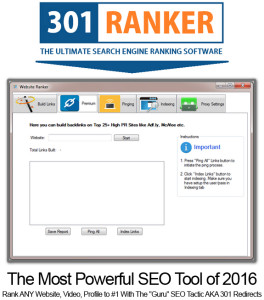 301 Ranker Software Pro UNLIMITED ACCESS!!! Powerful Link Building Tool