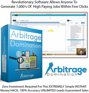 Arbitrage Domination Software Lifetime Access!! By Kyle Custis