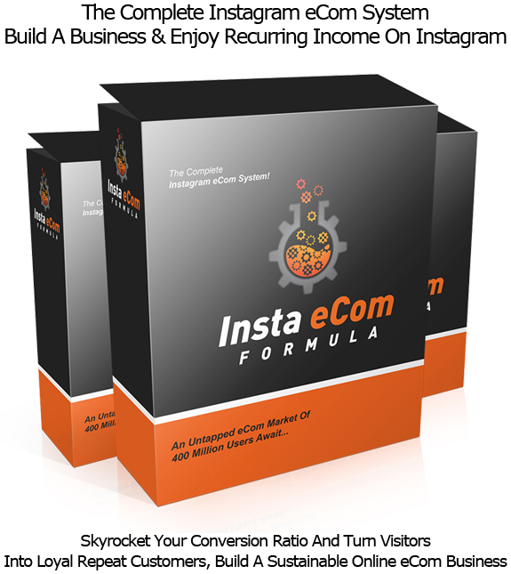 Insta eCom Formula INSTANT DOWNLOAD Skyrocket Your Sales With Instagram