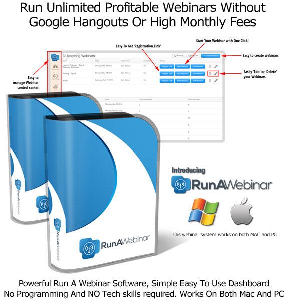 Run A Webinar Software By Sam Bakker UNLIMITED ACCESS!!
