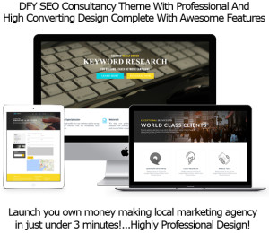 SEO Agency WP Theme Instant Download By Robert Phillips