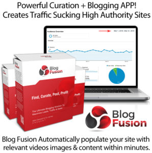 BlogFusion APP Instant Download By OJ James