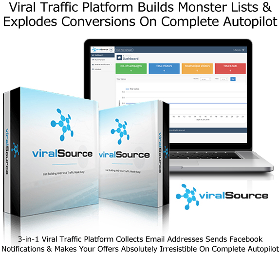 Viral Source Software APP Collect Leads From FB