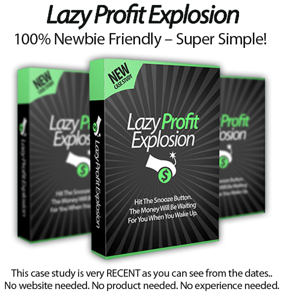 Lazy Profit Explosion Instant Download By Declan & Spencer