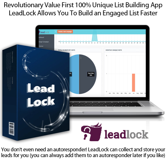 LeadLock App Diamond Package Lifetime Access By Ben Murray