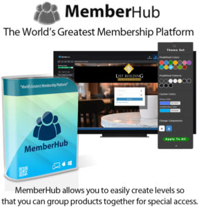 MemberHub One-Time Special Lifetime Access By Chad Nicely