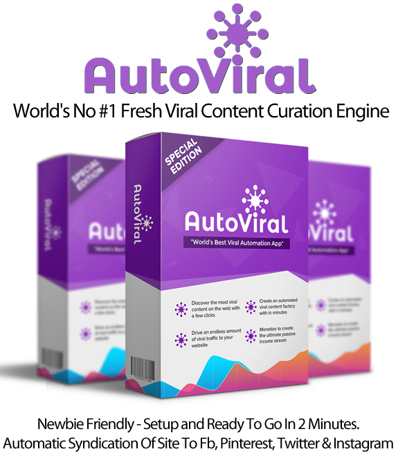 AutoViral APP Pro Viral Content Generator Instant Download