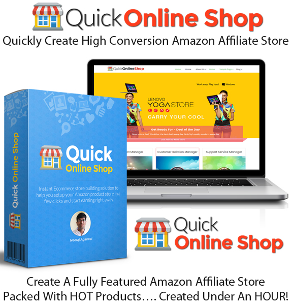 Quick online shop WP Theme Unlimited License FE Instant Access