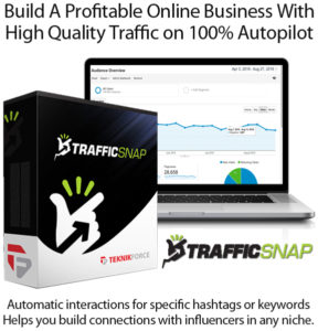 TrafficSnap APP Unlimited Keywords and Hashtags