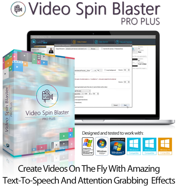 Video Spin Blaster Pro 2 Unlimited License Instant Download