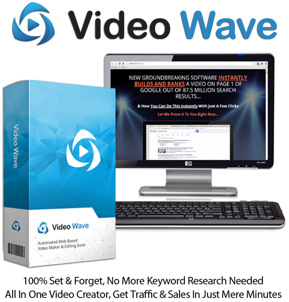 Video Wave Software APP For Unlimited Video Lifetime Access