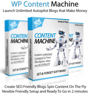 WP Content Machine Pro License Instant Access 100% Newbie-Friendly