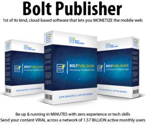 Bolt Publisher Pro License Instant Download By Justin Burns
