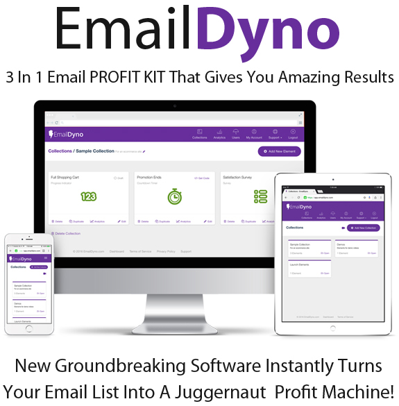 EmailDyno Web Base Software Full Access Pro License