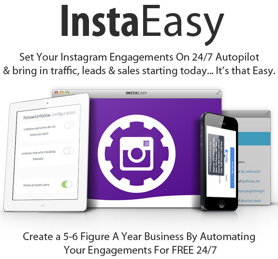 Instaeasy New Instagram Software Full Access By Luke Maguire