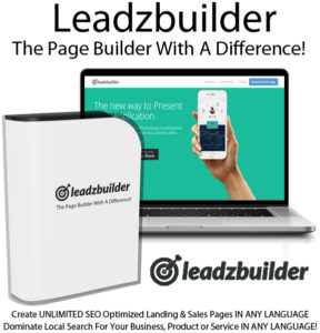 Leadzbuilder Page Builder Software Instant Download