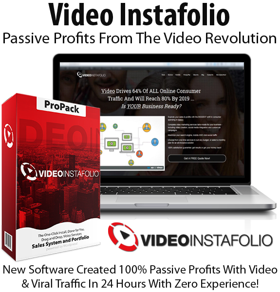 Video Instafolio WP Theme Basic License Instant Download