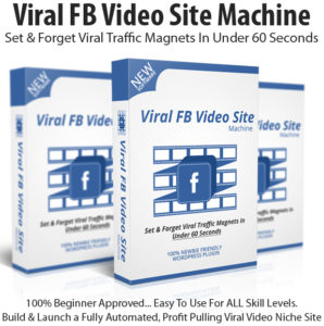 Viral FB Video Site Machine Pro Instant Download By Sherman Fredericksen