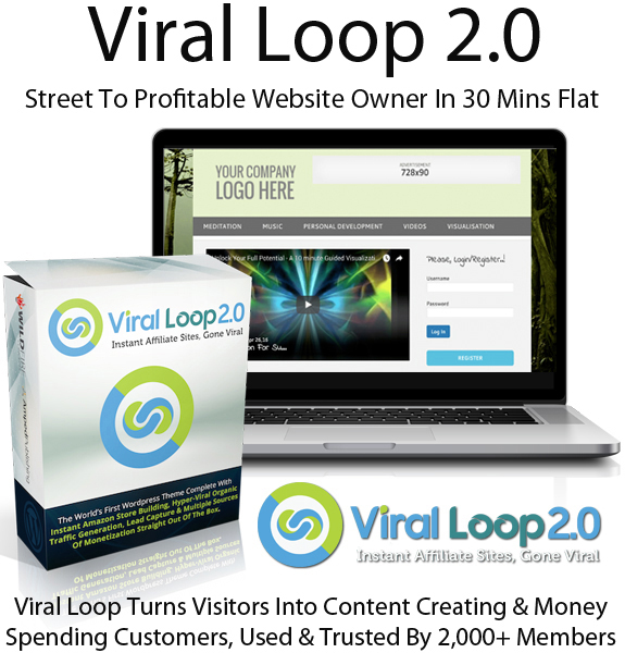 Viral Loop 2.0 Theme By Cindy Donovan Direct Download