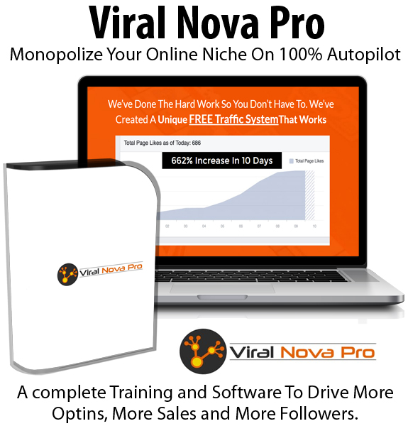 Viral Nova Pro Instant Download Unlimited License By Jon Bowtell