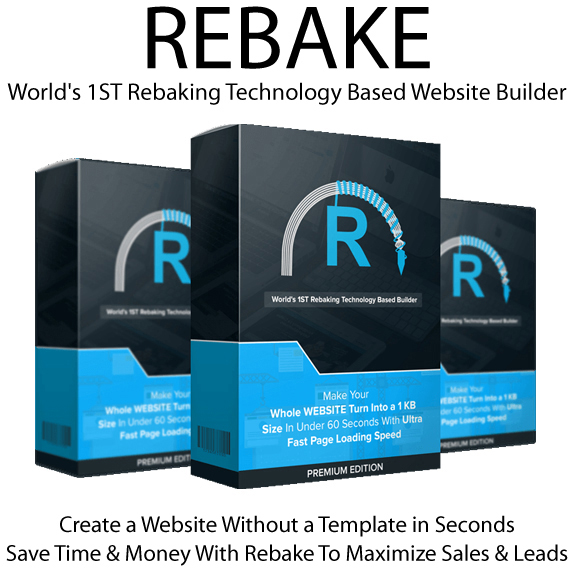 FREE Download Rebake App PREMIUM EDITION By Jai Sharma