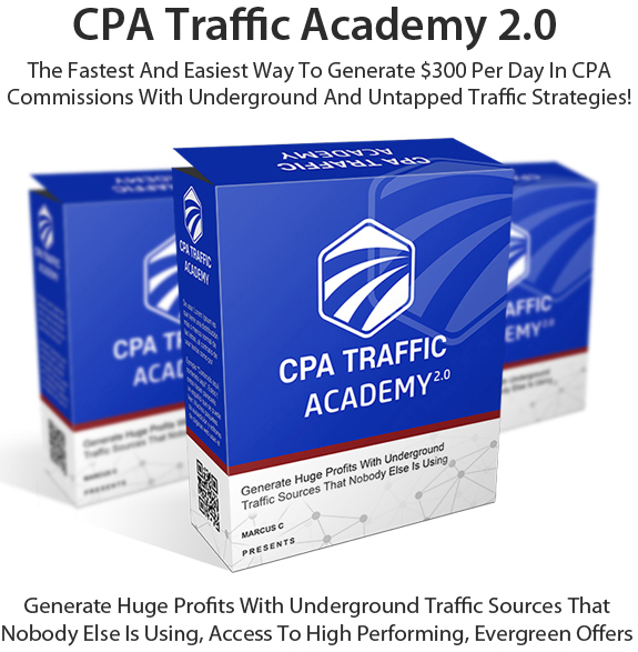 Free Download CPA Traffic Academy 2.0 Software By Marcus. C